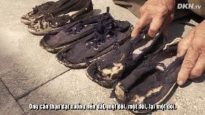 Câu chuyện 9 đôi giày của ông Vương