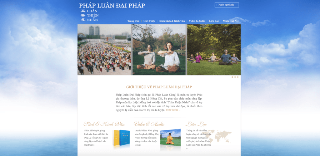 Website phapluan.org